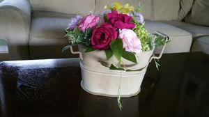 Decorative Metal Bucket with Handles for Sale in Ocoee, FL