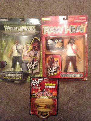 Wwf mankind action figures for Sale in Dallas, TX