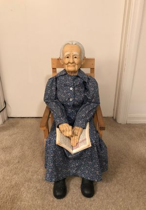 Porcelain Collector Grandma Doll for Sale in Tampa, FL