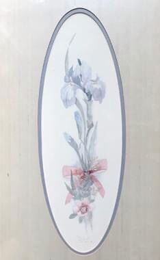 Home decor. Floral Watercolor art. By American artist Mary Vincent Bertrand. Limited edition. Signed for Sale in Linden, PA