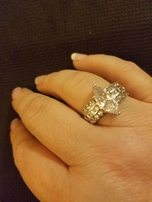 Last 4! Sterling Silver Engagement Ring for Sale in Knoxville, TN
