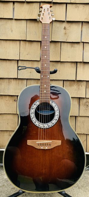 OVATION Ultra Series Model No. 1312 Acoustic Guitar for Sale in Leominster, MA