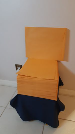 "Approximately 200 manila envelopes 11.5"" X 14.5"", see pricing below for Sale in Plantation, FL"