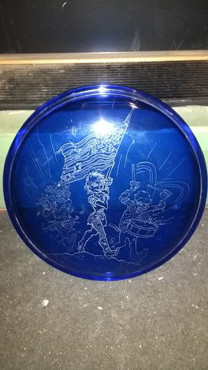 Hand etched piece of glass for Sale in Fremont, CA