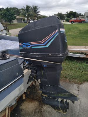 Force 125hp outboard motor. Good condition. for Sale in Fort Myers, FL