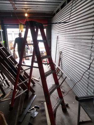 6ft Werner fiber glass ladder for Sale in Boston, MA