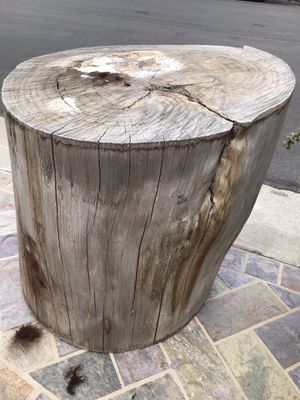 Wood stump for Sale in Huntington Beach, CA