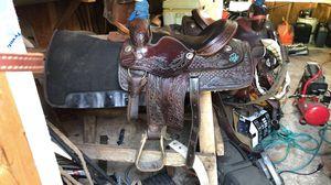 American saddle 15 - 16 for Sale in San Antonio, TX