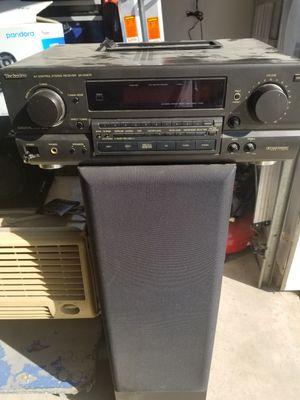 Technics stereo receiver for Sale in Visalia, CA