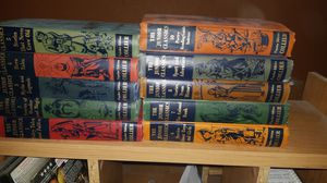 Junior classic 10 set books and huckleberry finn hardback book for Sale in Kansas City, MO