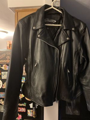 Women's Black Leather Motorcycle Jacket Size XXL for Sale in NEW PRT RCHY, FL