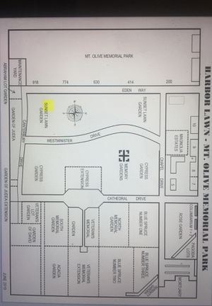 Cemetety spot for sale for Sale in Anaheim, CA