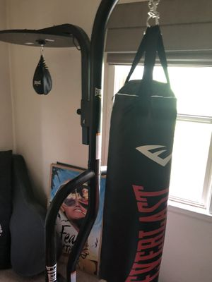 Heavy bag and speed bag for Sale in Spokane, WA