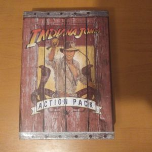 THE INDIANA JONES ACTION PACK- 3 FULL LENGTH BOOKS & FOLD OUT POSTER for Sale in Los Angeles, CA