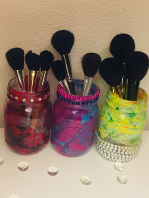 Marble Rhinestone Makeup Brush Holders for Sale in Fresno, CA