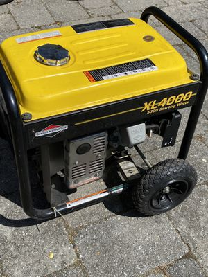 Briggs XL4000 Generator Like New for Sale in Crownsville, MD