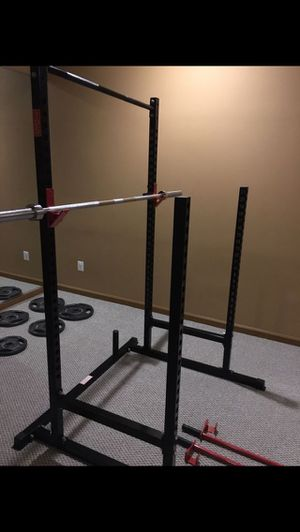 Power Rack with Bench and Weights for Sale in Alexandria, VA