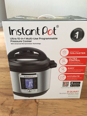 Instant Pot Ultra 8qt for sale, $115 obo, brand new! for Sale in San Jose, CA