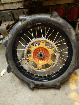 """KTM 450 18"""" SAND WHEEL AND TIRE DIRTBIKE COMBO for Sale in Portland, OR"""