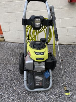 3000 PSI 2.3-GPM Honda Gas Pressure Washer for Sale in Baltimore, MD