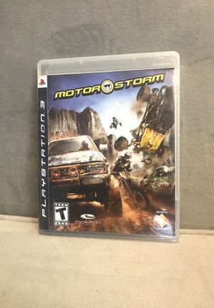 Motor storm PS3 CIB (complete in box) for Sale in Nashville, TN