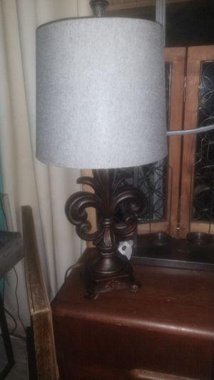 Fleur-de-lis lamp for Sale in League City, TX