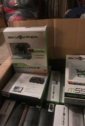 Nano Drone 15 dollars.Its a total of 27.15 dollars a piece. for Sale in Houston, TX