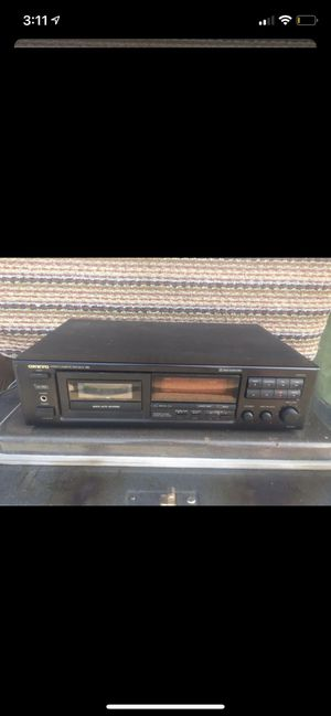 Onkyo Stereo Cassette Tape Deck for Sale in Cicero, IL