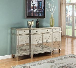 Brand new Never Opened Borghese Mirrored Sideboard for Sale in Alta Loma, CA