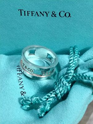 RARE Tiffany & Co. © Elements Cutout Sterling Silver Ring 925 US 10 for Sale in Pearland, TX