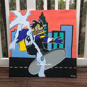 Static Shock X Nostalgia Painting for Sale in College Park, GA