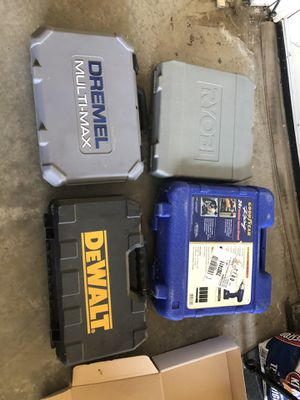 FREE TOOL BOXES CASES for Sale in Tracy, CA