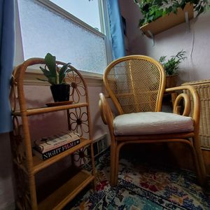 Unique Bentwood Rattan Chair for Sale in Seattle, WA