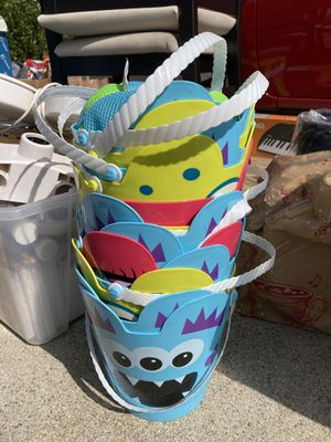Monster pails for Sale in San Jose, CA