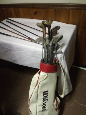 Golf clubs with bag for Sale in Landover, MD