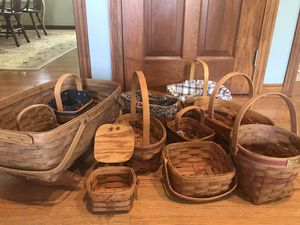 Longaberger Baskets for Sale in Hilliard, OH