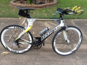 WTT Kestrel airfoil pro sl full carbon tri bike for full carbon road bike for Sale in Dallas, TX