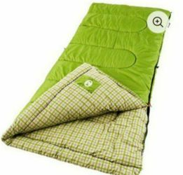 Brand New Coleman Green Valley 30-50 Degrees Cool Weather Adult Sleeping Bag for Sale in Pasadena,  CA