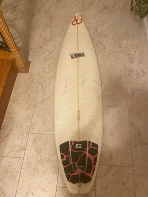 6'2 Shortboard Surfboard for Sale in Chino Hills, CA