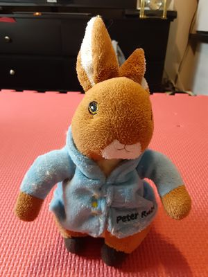 """Peter Rabbit 8"""" Brown Blue Plush Stuffed Animal The World of Beatrix Potter 2010 for Sale in Lehigh Acres, FL"""