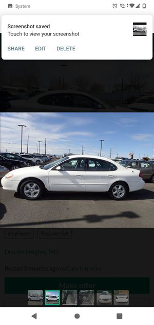2002 ford taurus for Sale in Baltimore, MD