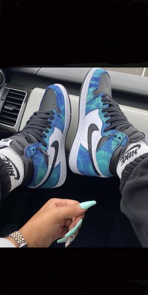 AIR JORDAN 1 TIE DYE for Sale in South Floral Park, NY