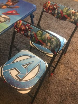 Two Avengers Kid Chairs for Sale in Chicago, IL