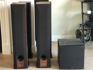 Polk audio tower speaker for sale r 50+ Polk audio subwoofer for sale 10 inch for Sale in Tracy, CA