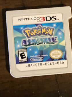 Pokémon 3ds Alpha Sapphire for Sale in Glendora,  CA
