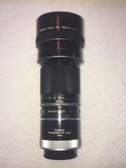 Canon FD 200mm f2.8 telephoto lens for Sale in El Monte,  CA