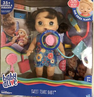 BABY ALIVE SWEET TEARS BABY for Sale in Houston, TX