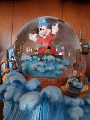 Disney's Fantasia Snow Globe - Sorcerer's Apprentice for Sale in Lewisville, TX