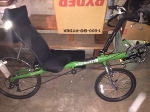 Bacchetta recumbent bike for Sale in Portland, OR