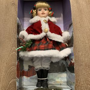 """Porcelain Dutch Doll 17"""" Brinn's 1994 for Sale in Lombard, IL"""